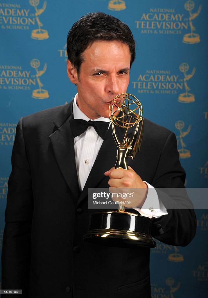 Actor Christian LeBlanc, winner of the Emmy for Outstanding Lead Actor in a Drama Series, poses for a portrait at the 36th Annual Daytime Emmy Awards at The Orpheum Theatre on August 30, 2009 in Los Angeles, California.