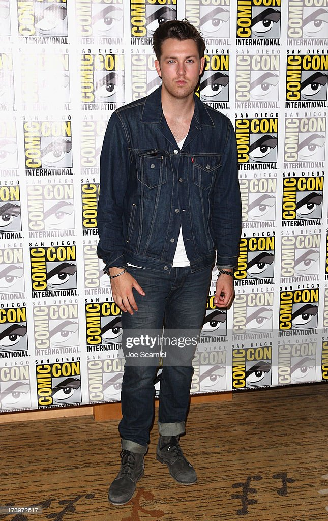 Actor Christian Madsen attends 'Divergent' Comic-Con Press Line at San Diego Convention Center on July 18, 2013 in San Diego, California.