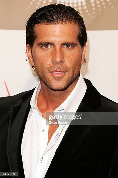 Actor Christian Meier arrives at the People En Espanol celebration of their 50 Most Beautiful Issue at Splashlight studios on May 16 2007 in New York...