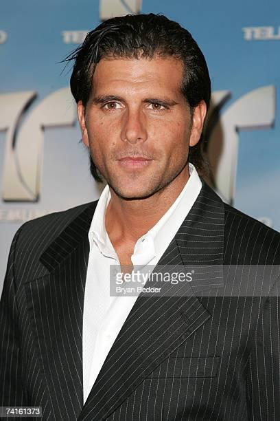 Actor Christian Meier arrives at the Telemundo 2007 Upfront presentation at Radio City Music Hall May 15 2007 in New York City