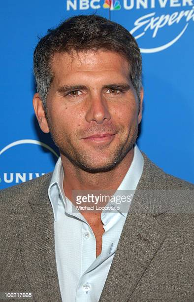 Actor Christian Meier attends the NBC Universal Experience at Rockefeller Center on May 12 2008 in New York City