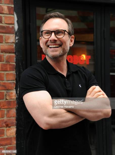Actor Christian Slater attends 'Mr Robot' FYC Screening at The Metrograph on June 8 2017 in New York City