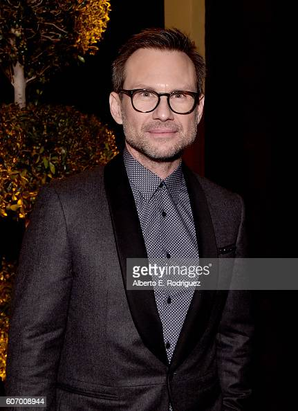 Actor Christian Slater attends the 2016 Entertainment Weekly PreEmmy party at Nightingale Plaza on September 16 2016 in Los Angeles California