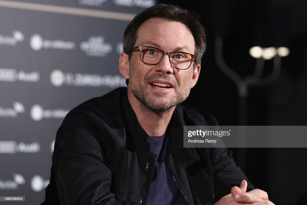 Actor Christian Slater attends the 'Mr Robot' Press Conference during the Zurich Film Festival on September 27, 2015 in Zurich, Switzerland. The 11th Zurich Film Festival will take place from September 23 until October 4.