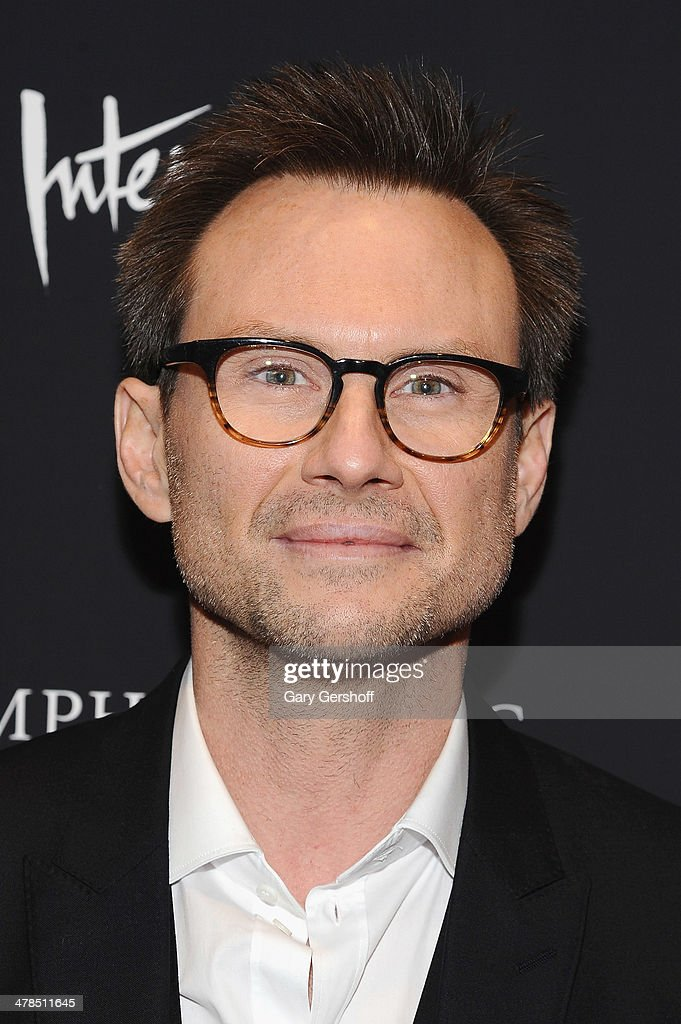 Actor <a gi-track='captionPersonalityLinkClicked' href=/galleries/search?phrase=Christian+Slater&family=editorial&specificpeople=201651 ng-click='$event.stopPropagation()'>Christian Slater</a> attends the 'Nymphomaniac: Volume I' screening at The Museum of Modern Art on March 13, 2014 in New York City.