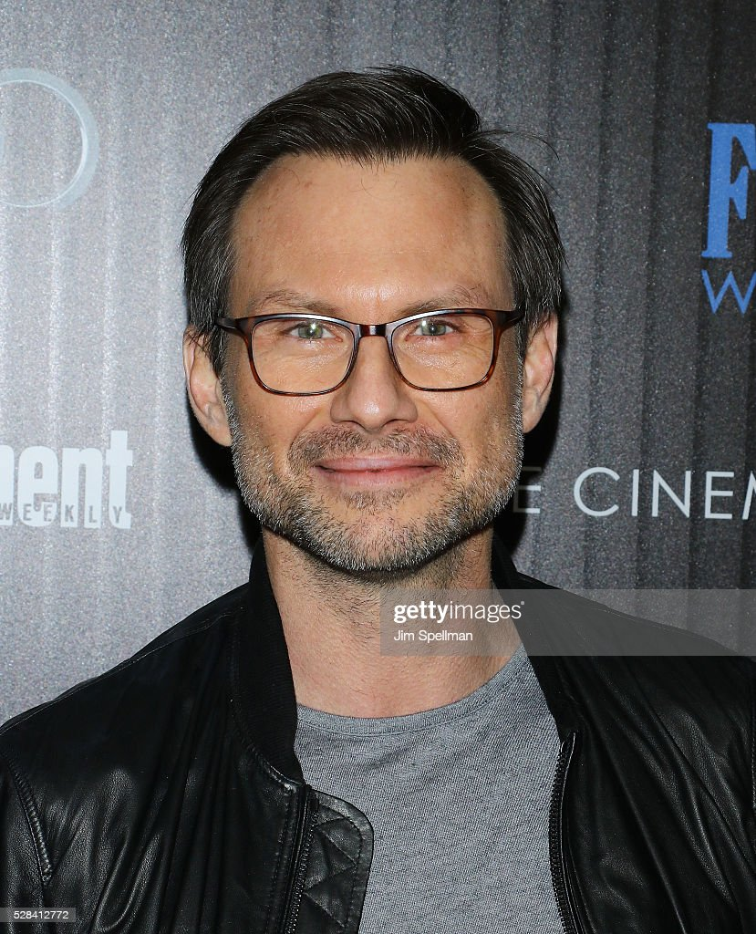 Actor Christian Slater attends the screening of Marvel's 'Captain America: Civil War' hosted by The Cinema Society with Audi & FIJI at Brookfield Place on May 4, 2016 in New York City.
