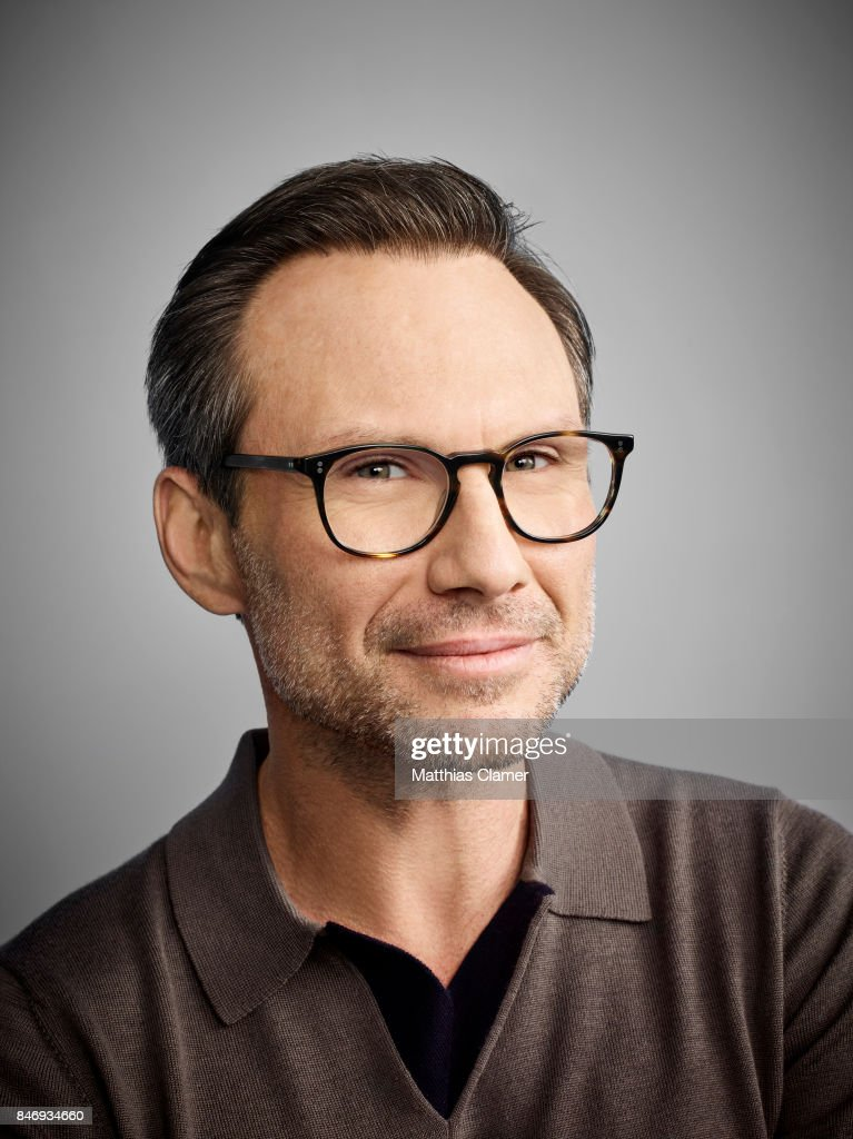 Actor Christian Slater from 'Mr. Robot' is photographed for Entertainment Weekly Magazine on July 21, 2016 at Comic Con in the Hard Rock Hotel in San Diego, California.
