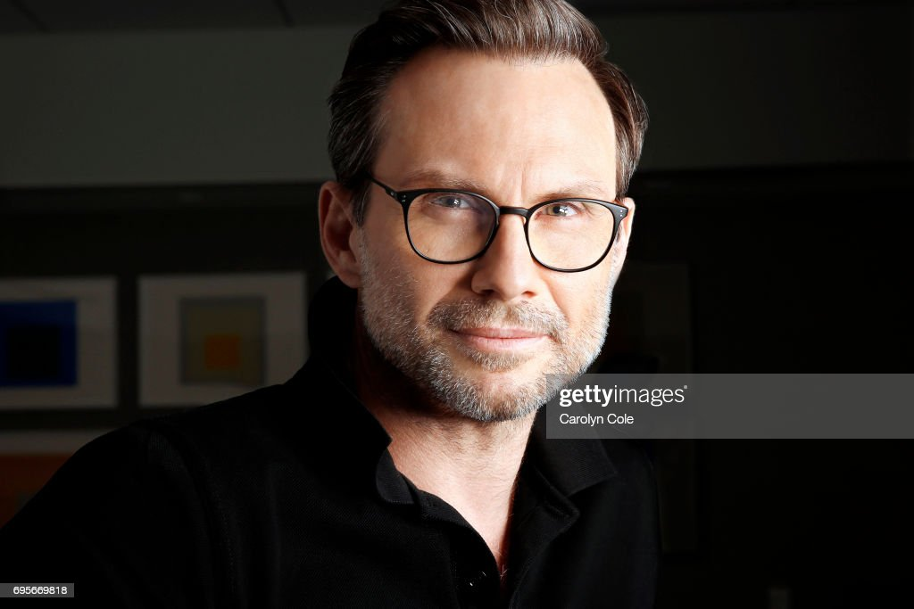 Actor Christian Slater is photographed for Los Angeles Times on May 16, 2017 in New York City. PUBLISHED IMAGE.