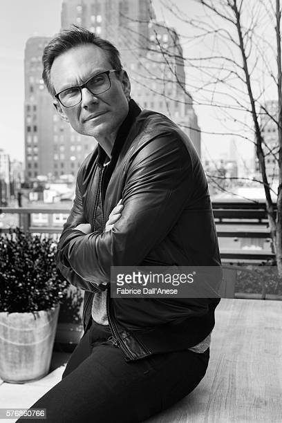 Actor Christian Slater is photographed for Vanity Faircom on April 19 2016 in New York City
