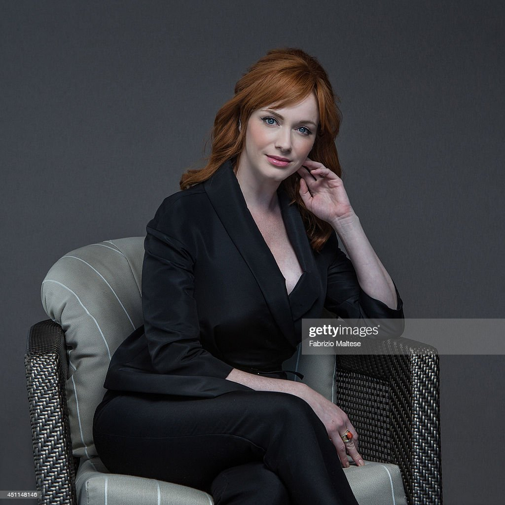 Actor Christina Hendricks is photographed in Cannes, France.