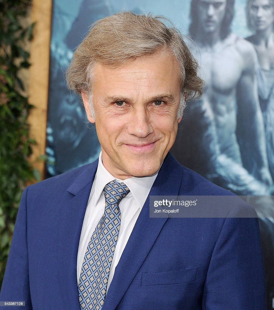 Actor <a gi-track='captionPersonalityLinkClicked' href=/galleries/search?phrase=Christoph+Waltz&family=editorial&specificpeople=4276914 ng-click='$event.stopPropagation()'>Christoph Waltz</a> arrives at the Los Angeles Premiere 'The Legend Of Tarzan' at TCL Chinese Theatre on June 27, 2016 in Hollywood, California.