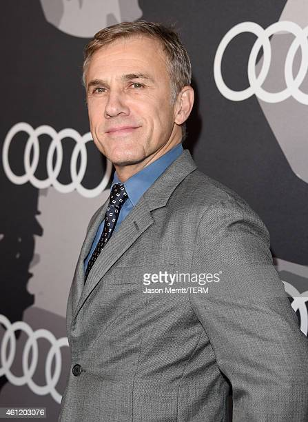 Actor Christoph Waltz attends Audi celebrates Golden Globes Week 2015 at Cecconi's Restaurant on January 8 2015 in Los Angeles California