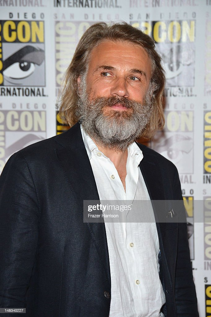 Actor Christoph Waltz attends 'DJango Unchained' Press Line during Comic-Con International 2012 at Hilton San Diego Bayfront Hotel on July 14, 2012 in San Diego, California.