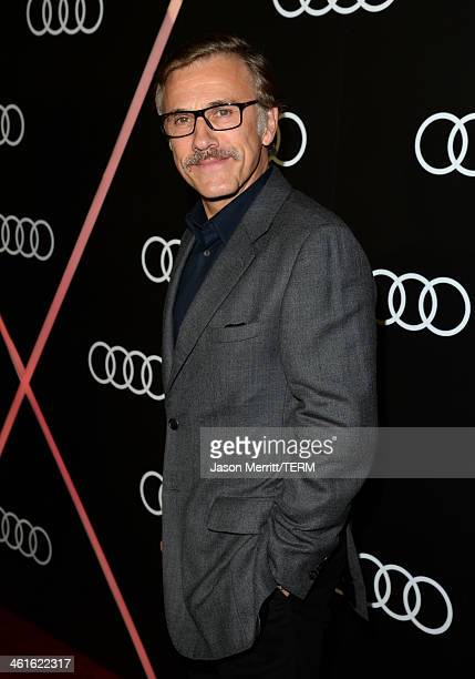 Actor Christoph Waltz attends Golden Globes Weekend Audi Celebration at Cecconi's on January 9 2014 in Beverly Hills California