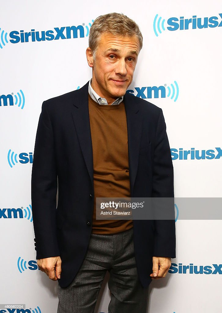 Actor <a gi-track='captionPersonalityLinkClicked' href=/galleries/search?phrase=Christoph+Waltz&family=editorial&specificpeople=4276914 ng-click='$event.stopPropagation()'>Christoph Waltz</a> attends SiriusXM Town Hall With <a gi-track='captionPersonalityLinkClicked' href=/galleries/search?phrase=Christoph+Waltz&family=editorial&specificpeople=4276914 ng-click='$event.stopPropagation()'>Christoph Waltz</a> at SiriusXM Studios on December 16, 2014 in New York City.