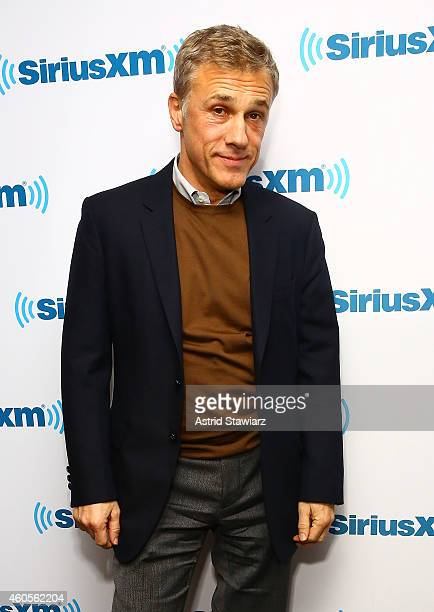 Actor Christoph Waltz attends SiriusXM Town Hall With Christoph Waltz at SiriusXM Studios on December 16 2014 in New York City