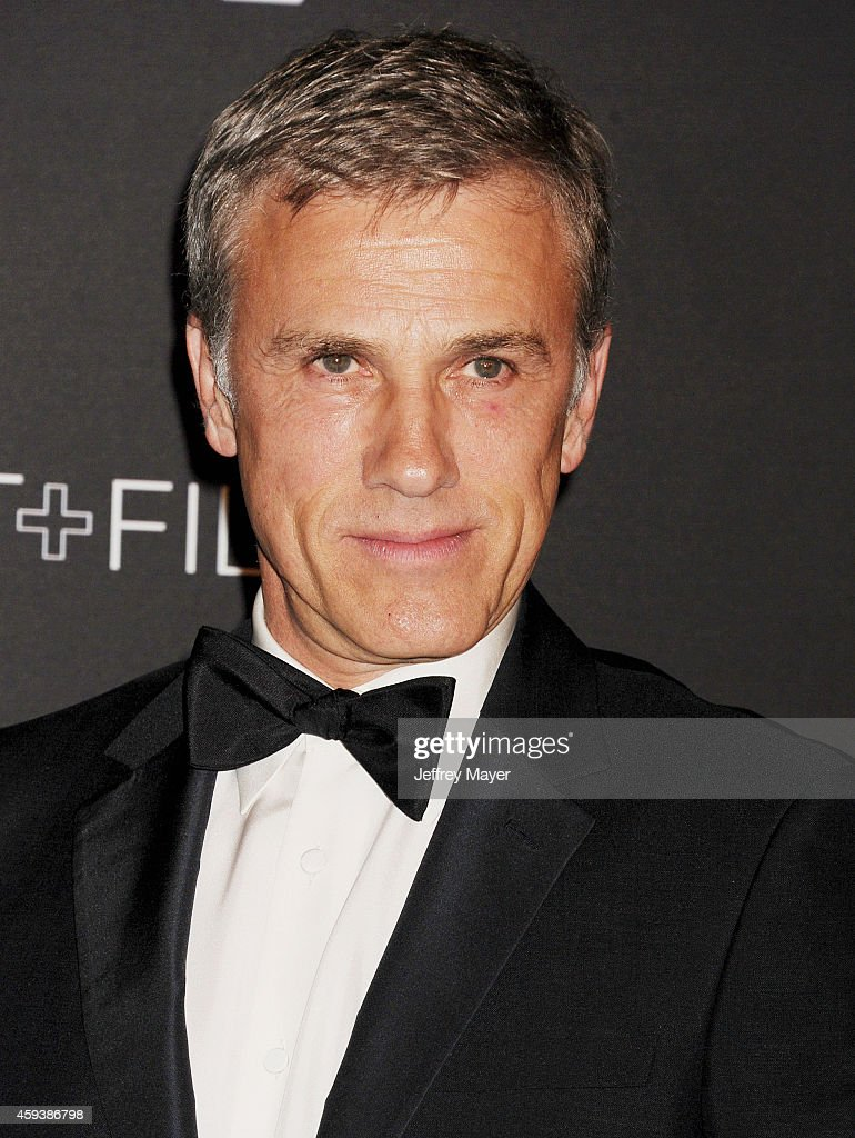 Actor Christoph Waltz attends the 2014 LACMA Art + Film Gala honoring Barbara Kruger and Quentin Tarantino presented by Gucci at LACMA on November 1, 2014 in Los Angeles, California.