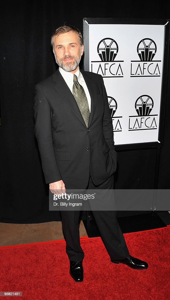 Actor Christoph Waltz attends the 35th Annual Los Angeles Film Critics Association Awards at InterContinental Hotel on January 16, 2010 in Century City, California.