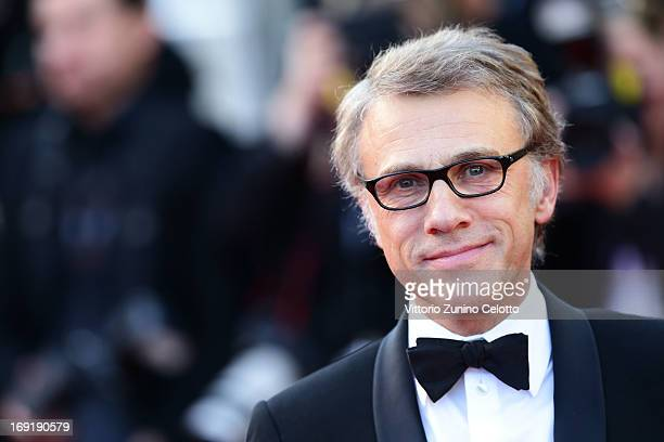Actor Christoph Waltz attends the 'Behind The Candelabra' premiere during The 66th Annual Cannes Film Festival at Theatre Lumiere on May 21 2013 in...