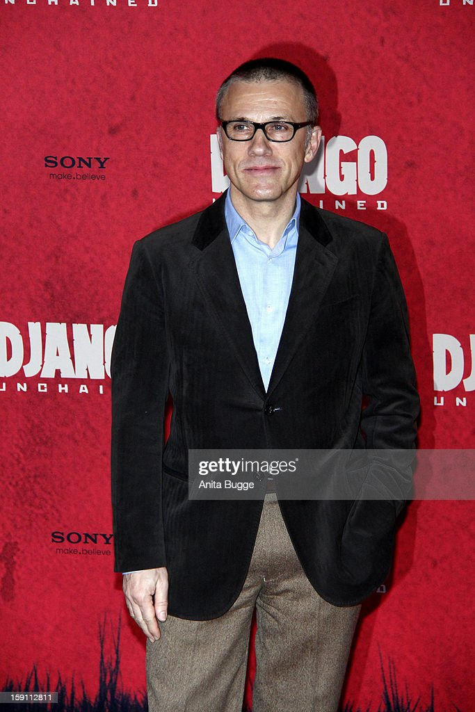 Actor Christoph Waltz attends the 'Django Unchained' Berlin Photocall at Hotel de Rome on January 8, 2013 in Berlin, Germany.