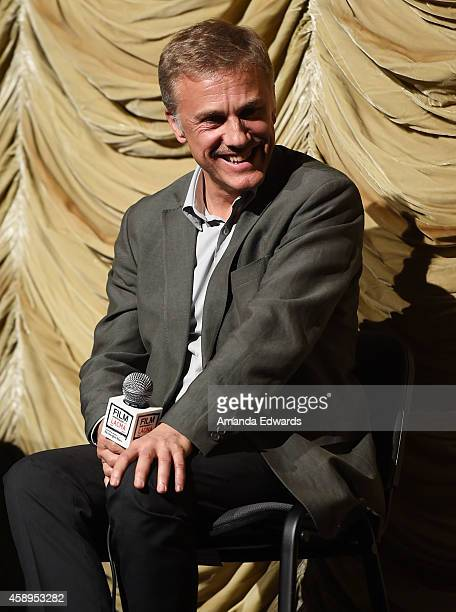 Actor Christoph Waltz attends the Film Independent at LACMA Special Screening of 'Big Eyes' at the Bing Theatre At LACMA on November 13 2014 in Los...