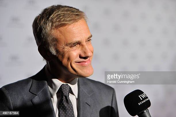 Actor Christoph Waltz attends the IWC Schaffhausen 'For the Love of Cinema' Gala Dinner during which Christoph Waltz presented the Filmmaker Award...