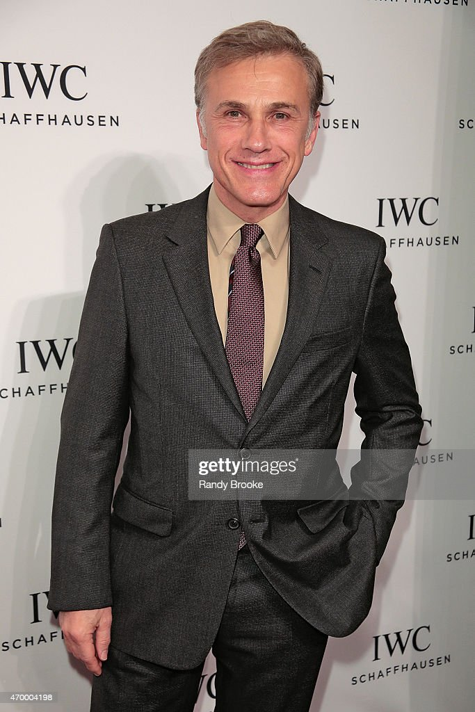 Actor Christoph Waltz attends the IWC Schaffhausen third annual 'For the Love of Cinema' dinner during Tribeca Film Festival at Spring Studios on April 16, 2015 in New York City.