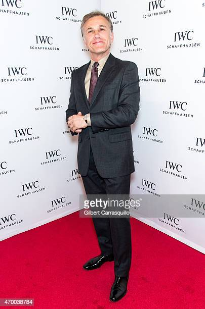 Actor Christoph Waltz attends the IWC Schaffhausen third annual 'For the Love of Cinema' dinner during Tribeca Film Festival at Spring Studios on...
