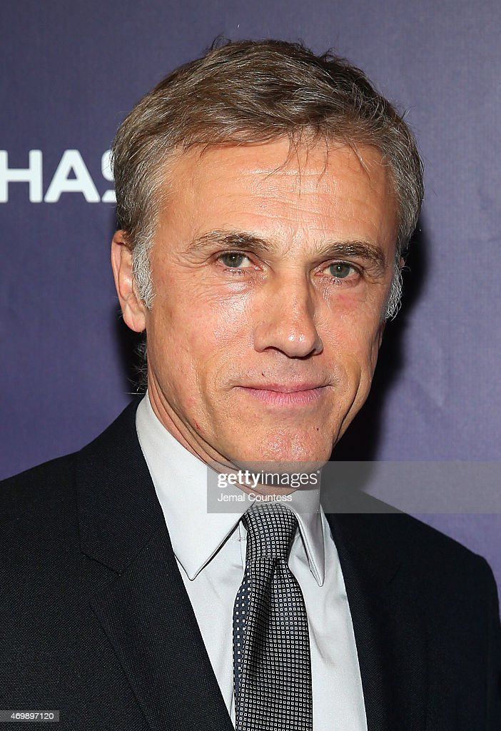 Actor <a gi-track='captionPersonalityLinkClicked' href=/galleries/search?phrase=Christoph+Waltz&family=editorial&specificpeople=4276914 ng-click='$event.stopPropagation()'>Christoph Waltz</a> attends the opening night of 'Finding Neverland' at Lunt-Fontanne Theatre on April 15, 2015 in New York City.