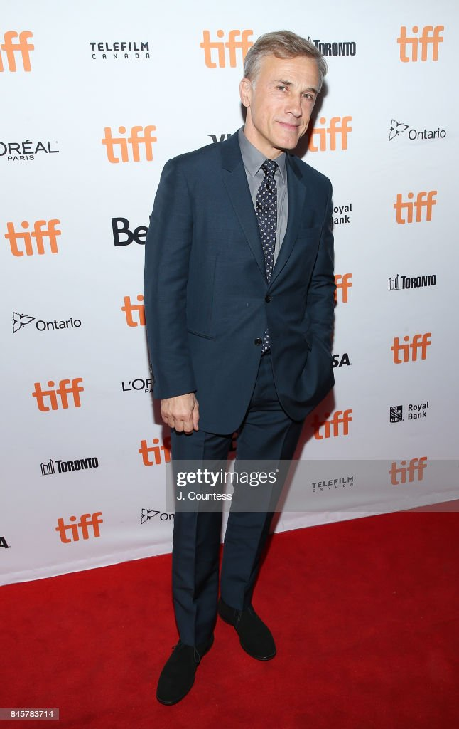 Actor Christoph Waltz attends the premiere of 'Downsizing' during the 2017 Toronto Film Festival at The Elgin on September 11, 2017 in Toronto, Canada.