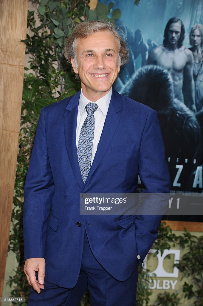 Actor <a gi-track='captionPersonalityLinkClicked' href=/galleries/search?phrase=Christoph+Waltz&family=editorial&specificpeople=4276914 ng-click='$event.stopPropagation()'>Christoph Waltz</a> attends the premiere of Warner Bros. Pictures' 'The Legend Of Tarzan' held at the DolbyTheater on June 27, 2016 in Hollywood, California.