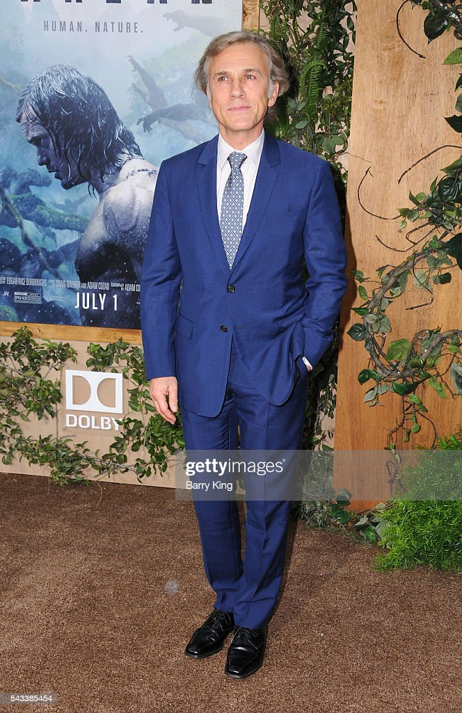 Actor Christoph Waltz attends the premiere of Warner Bros. Pictures' 'The Legend Of Tarzan' at Dolby Theatre on June 27, 2016 in Hollywood, California.