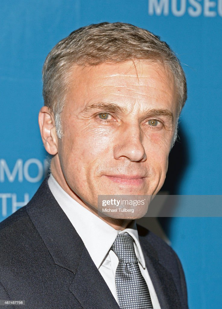 Actor <a gi-track='captionPersonalityLinkClicked' href=/galleries/search?phrase=Christoph+Waltz&family=editorial&specificpeople=4276914 ng-click='$event.stopPropagation()'>Christoph Waltz</a> attends the Simon Wiesenthal Center's 2015 National Tribute Dinner honoring Harvey Weinstein at The Beverly Hilton Hotel on March 24, 2015 in Beverly Hills, California.