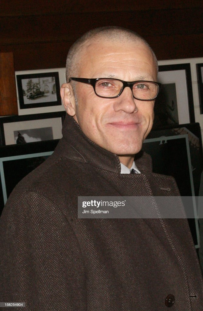 Actor Christoph Waltz attends The Weinstein Company with The Hollywood Reporter, Samsung Galaxy & The Cinema Society screening of 'Django Unchained' after party at the The Standard Hotel on December 11, 2012 in New York City.