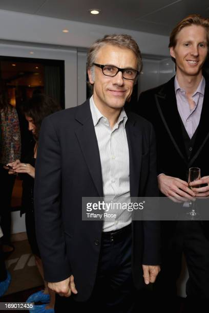 Actor Christoph Waltz attends the Zero Theorem Party Hosted by Terry Gilliam The 66th Annual Cannes Film Festival at Torch at Vegaluna Beach Club on...