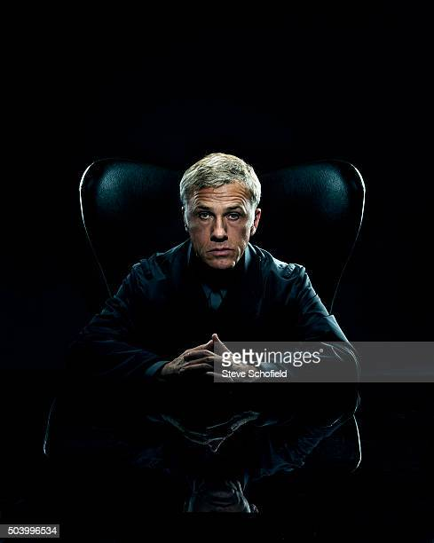 Actor Christoph Waltz is photographed for the Guardian on September 15 2015 in London England