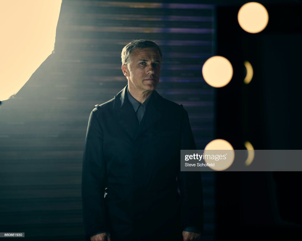 Actor Christoph Waltz is photographed for the Guardian on September 15, 2015 in Los Angeles, United States.