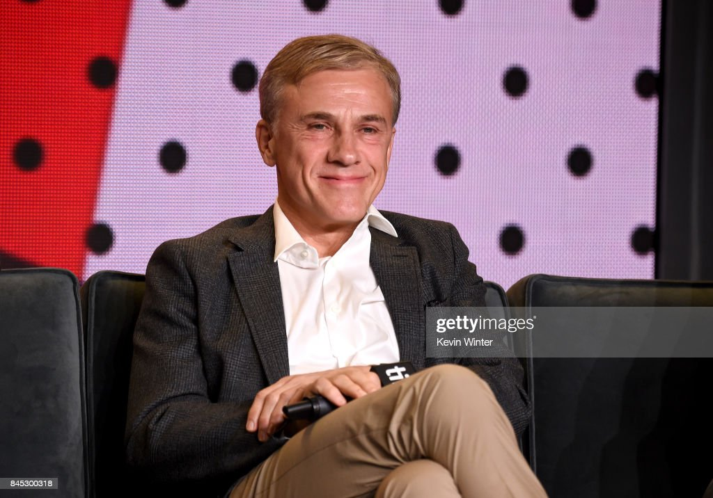 Actor Christoph Waltz speaks onstage at the 'Downsizing' press conference during the 2017 Toronto International Film Festival at TIFF Bell Lightbox on September 10, 2017 in Toronto, Canada.