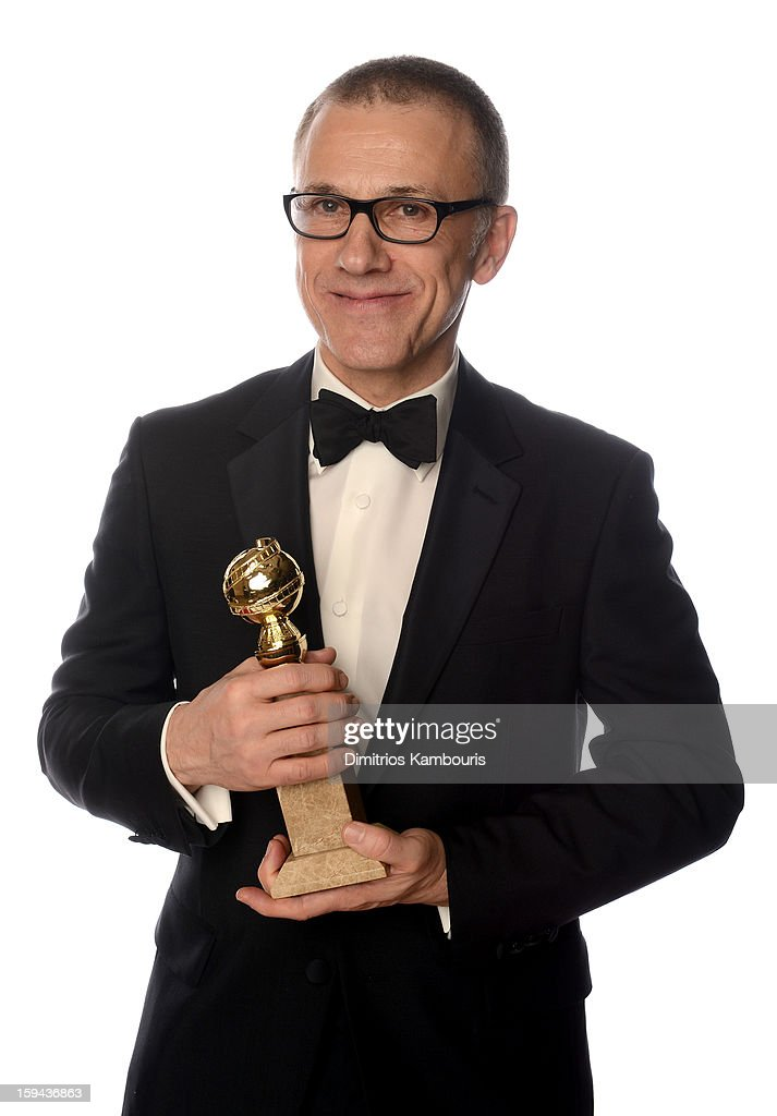 Actor Christoph Waltz, winner of the Best Performance by an Actor In A Supporting Role in a Motion Picture for 'Django Unchained' poses for a portrait at the 70th Annual Golden Globe Awards held at The Beverly Hilton Hotel on January 13, 2013 in Beverly Hills, California.