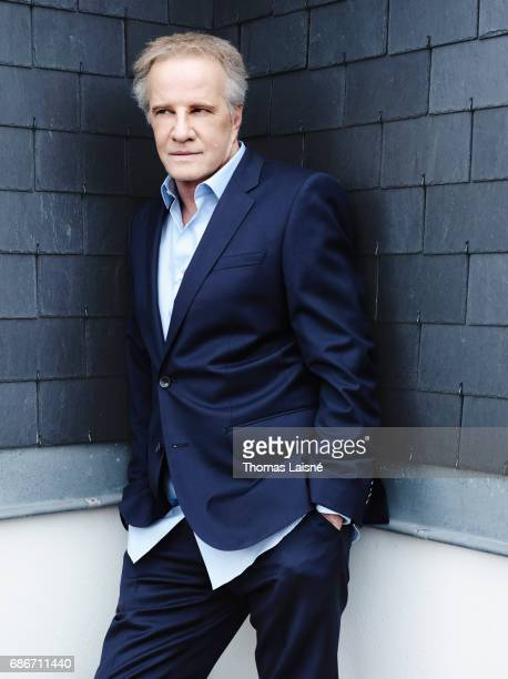 Actor Christophe Lambert is photographed on March 13 2017 in Paris France