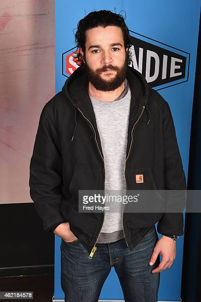 Actor Christopher Abbot attends the SAG Indie Actors Only Brunch during the 2015 Sundance Film Festival at Cafe Terigo on January 25 2015 in Park...