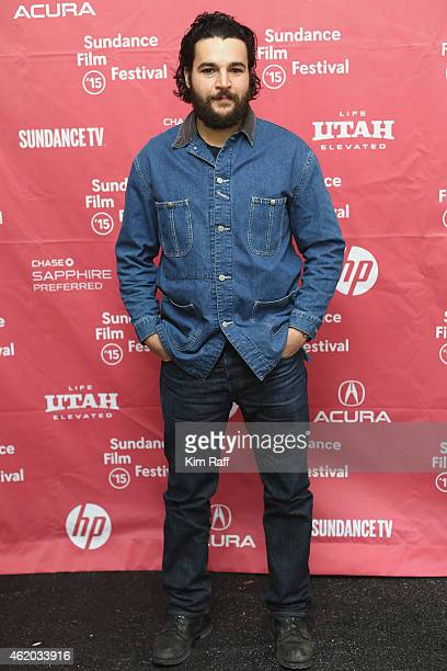 Actor Christopher Abbott attends the 'James White' Premiere during the 2015 Sundance Film Festival at Library Center Theater on January 23 2015 in...
