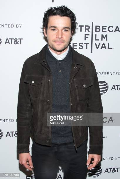 Actor Christopher Abbott attends 'The Sinner' Premiere during the 2017 Tribeca Film Festival at SVA Theatre on April 25 2017 in New York City