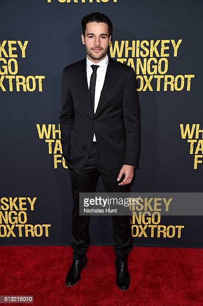 Actor Christopher Abbott attends the 'Whiskey Tango Foxtrot' world premiere at AMC Loews Lincoln Square 13 theater on March 1 2016 in New York City