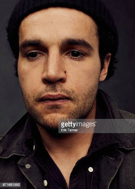 Actor Christopher Abbott from 'Sweet Virginia' poses at the 2017 Tribeca Film Festival portrait studio on on April 22 2017 in New York City