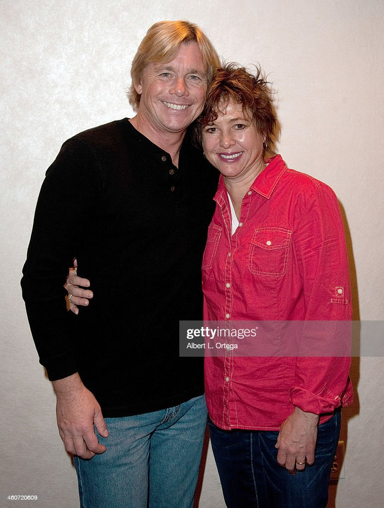 Actor <a gi-track='captionPersonalityLinkClicked' href=/galleries/search?phrase=Christopher+Atkins&family=editorial&specificpeople=240534 ng-click='$event.stopPropagation()'>Christopher Atkins</a> and actress <a gi-track='captionPersonalityLinkClicked' href=/galleries/search?phrase=Kristy+McNichol&family=editorial&specificpeople=1049241 ng-click='$event.stopPropagation()'>Kristy McNichol</a> attend The Hollywood Show at Lowes Hollywood Hotel on January 4, 2014 in Hollywood, California.