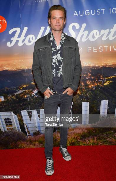 Actor Christopher Backus attends the Primetime Short Films series during the 2017 HollyShorts Film Festival at TCL Chinese 6 Theatres on August 12...