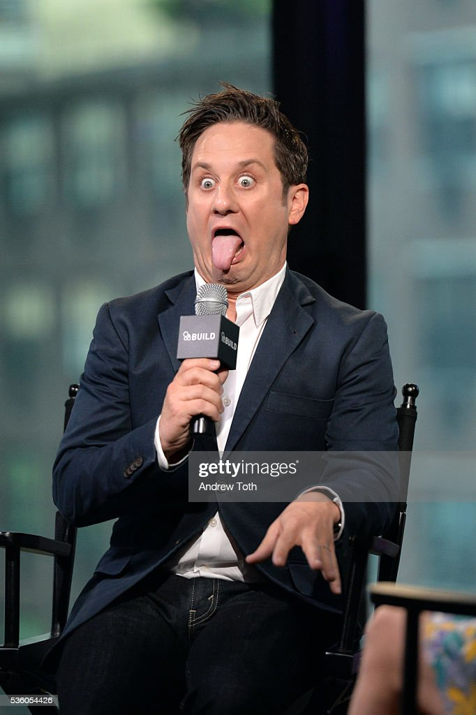 Actor <a gi-track='captionPersonalityLinkClicked' href=/galleries/search?phrase=Christopher+Fitzgerald&family=editorial&specificpeople=4069728 ng-click='$event.stopPropagation()'>Christopher Fitzgerald</a> speaks during the AOL Build Speaker Series <a gi-track='captionPersonalityLinkClicked' href=/galleries/search?phrase=Christopher+Fitzgerald&family=editorial&specificpeople=4069728 ng-click='$event.stopPropagation()'>Christopher Fitzgerald</a> 'Waitress' at AOL Studios In New York on May 31, 2016 in New York City.