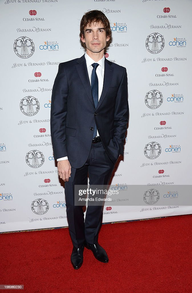 Actor <a gi-track='captionPersonalityLinkClicked' href=/galleries/search?phrase=Christopher+Gorham&family=editorial&specificpeople=2143949 ng-click='$event.stopPropagation()'>Christopher Gorham</a> arrives at the 55th Annual Women's Guild Cedars-Sinai Anniversary Gala at the Beverly Wilshire Four Seasons Hotel on November 13, 2012 in Beverly Hills, California.