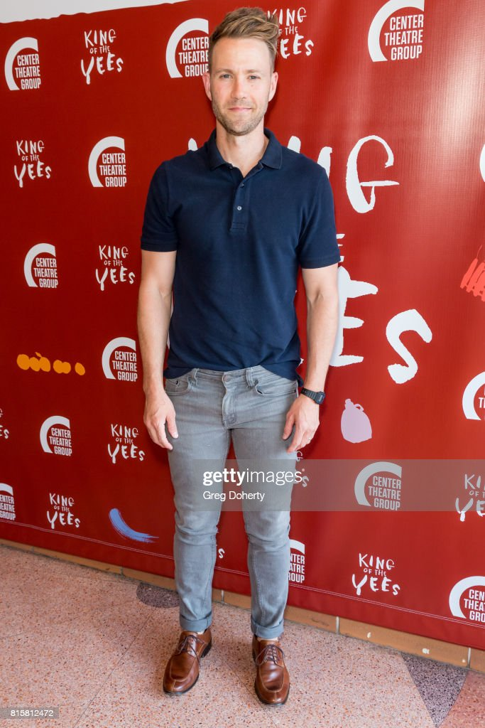 Actor Christopher Hanke attends the opening night of 'King Of The Yees' at the Kirk Douglas Theatre on July 16, 2017 in Culver City, California.